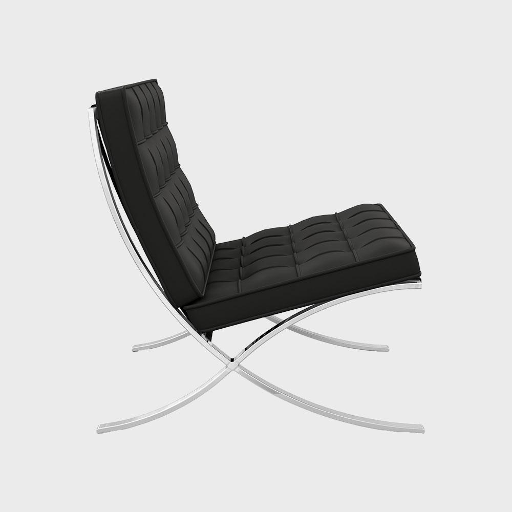 Knoll/Barcelona Chair バルセロナチェア/ブラックVolo