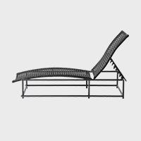 SUPPOSE DESIGN ガーデンファニチャー MA Series MA-ベッド [ アウトドア・インドアで使用可能な人工ラタン製 ]