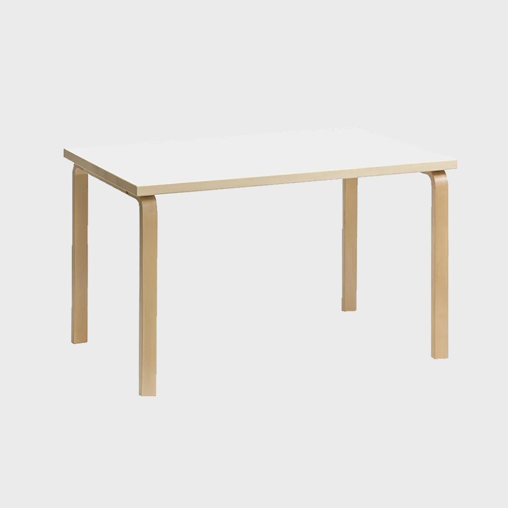 【¥100クーポン】北欧 artek/アルテック/アアルト/ダイニングテーブル 81B ホワイト [ダイニングテーブルは北欧artek アルテック]
