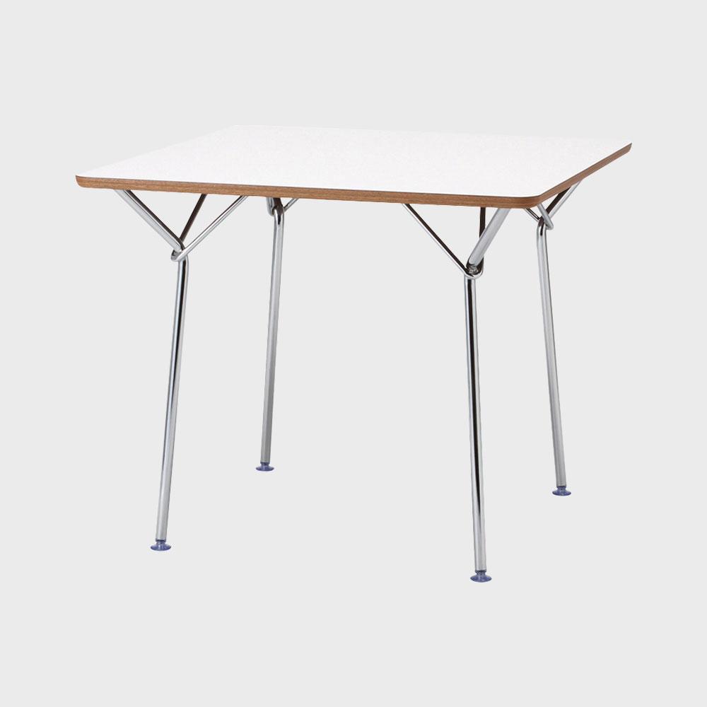 【¥100クーポン】天童木工/柳宗理 YANAGI DESIGN/テーブル 850mm/ホワイト