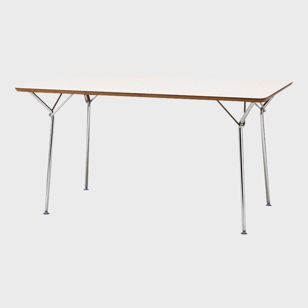 天童木工/柳宗理 YANAGI DESIGN/テーブル 1350mm/ホワイト