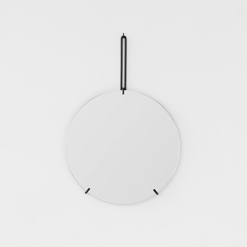 MOEBE WALL MIRROR ( 壁掛けミラー ) 30cm [ おしゃれな北欧デザインの鏡 ]