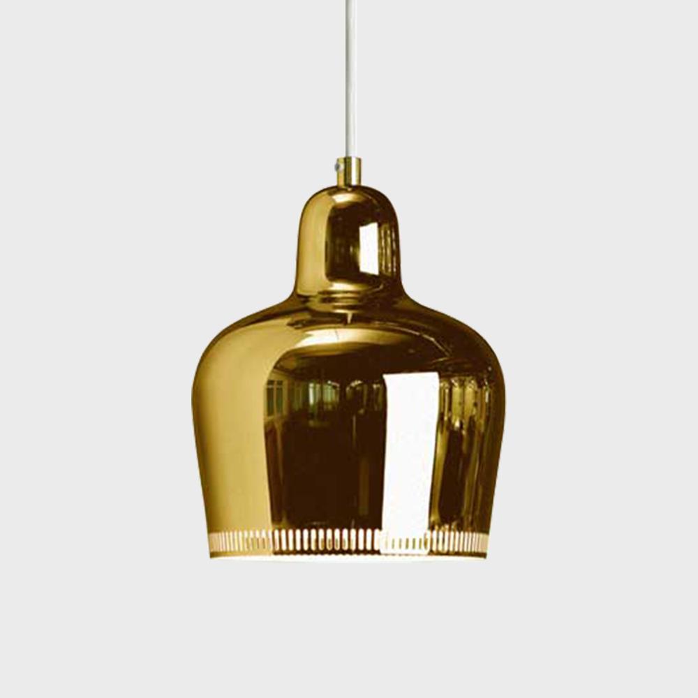 【マラソン期間¥100-2000クーポン】北欧照明 artek/アルテック/アアルト/a330s golden bell ゴールデンベル/ペンダントランプ [北欧照明はartek アルテック]