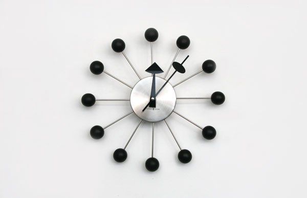 george nelson ball clock parts vintage miller vitra