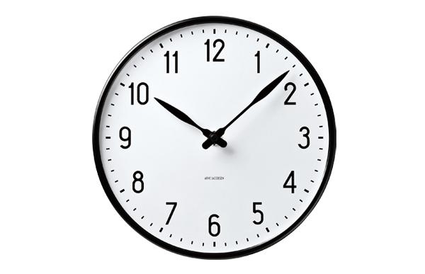 掛け時計・壁掛け時計 ステーション 290 STATION [ デザイナーズ ウォールクロック 北欧 おしゃれ ] 【100-2000円クーポン&エントリーでP5倍】 【5%OFFクーポン対象】 ヤコブセン ローゼンダール アルネ