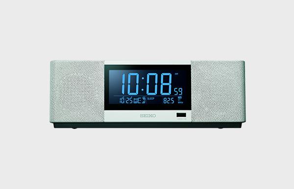 【新品展示品OUTLET/20%off】SEIKO(セイコー) マルチサウンドスピーカークロック SS501 ホワイト 白