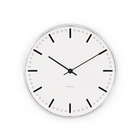 Roosendaal and Arne Jacobsen / wall clocks, wall clock /city hall Hall diameter 21 cm [Scandinavian fashionable clocks, wall clocks, Arne Jacobsen]