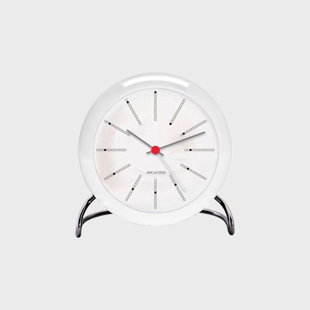 【100-2000円offクーポン】ローゼンダール/アルネ ヤコブセン/置き時計・アラームクロック/BANKERS バンカーズ[北欧のおしゃれ 置き時計・アラームクロックはアルネ ヤコブセン]