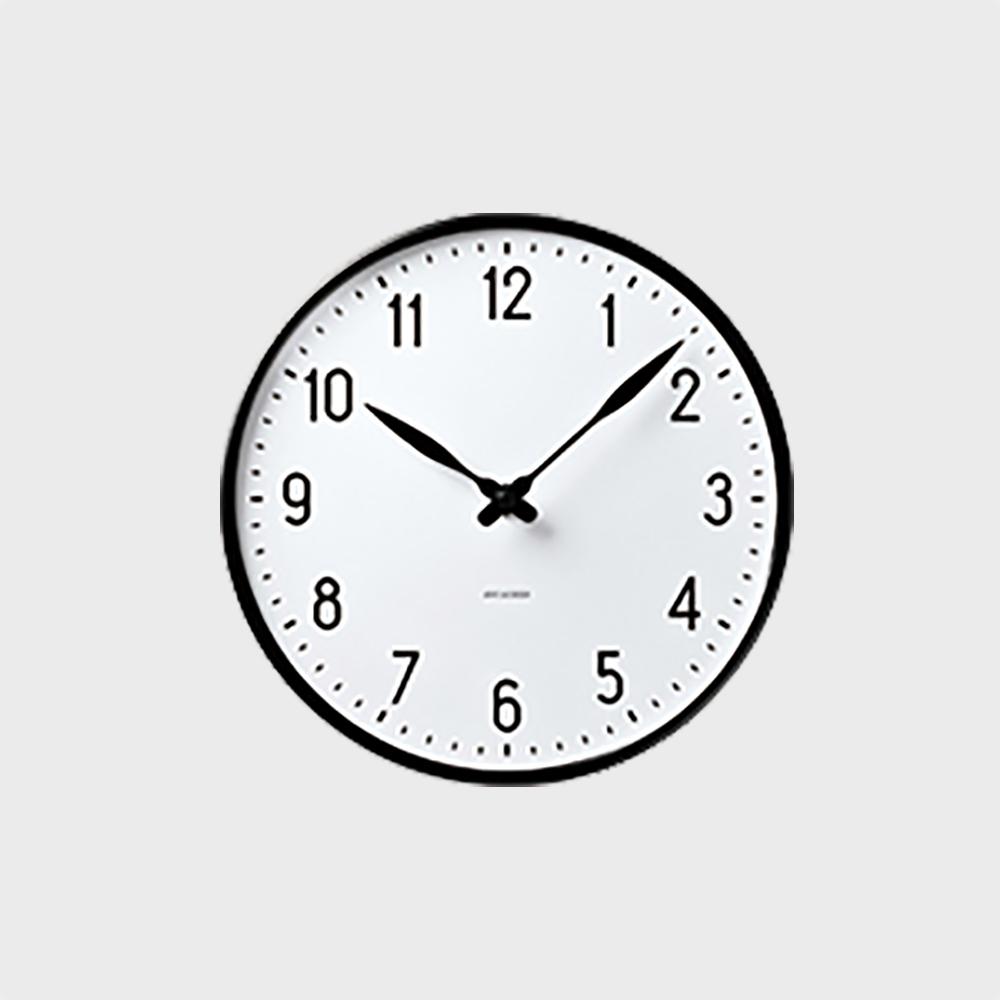 【3/1限定11%offクーポン】ローゼンダール アルネ ヤコブセン 掛時計・壁掛け時計 STATION ステーション 290  [ デザイナーズ ウォールクロック 北欧 ]