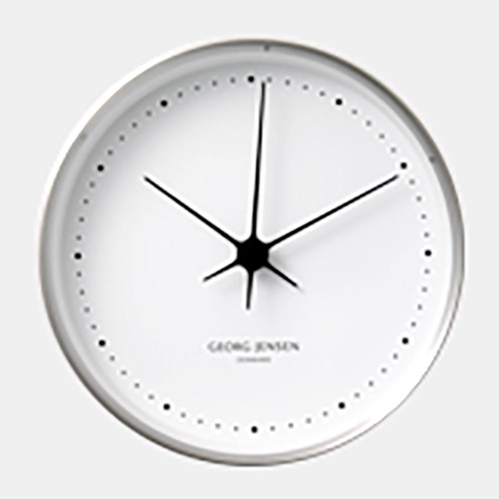 【マラソン期間¥100-2000クーポン】GEORG JENSEN ジョージ ジェンセン/KOPPEL/掛時計・壁掛け時計SS WHダイヤル/φ22 [北欧 おしゃれな掛時計・壁掛け時計はジョージ ジェンセン]