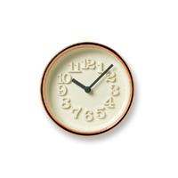 【100-3000円offクーポン】Lemnos レムノス /掛時計・置時計/渡辺力/小さな時計/純銅 WR11-05