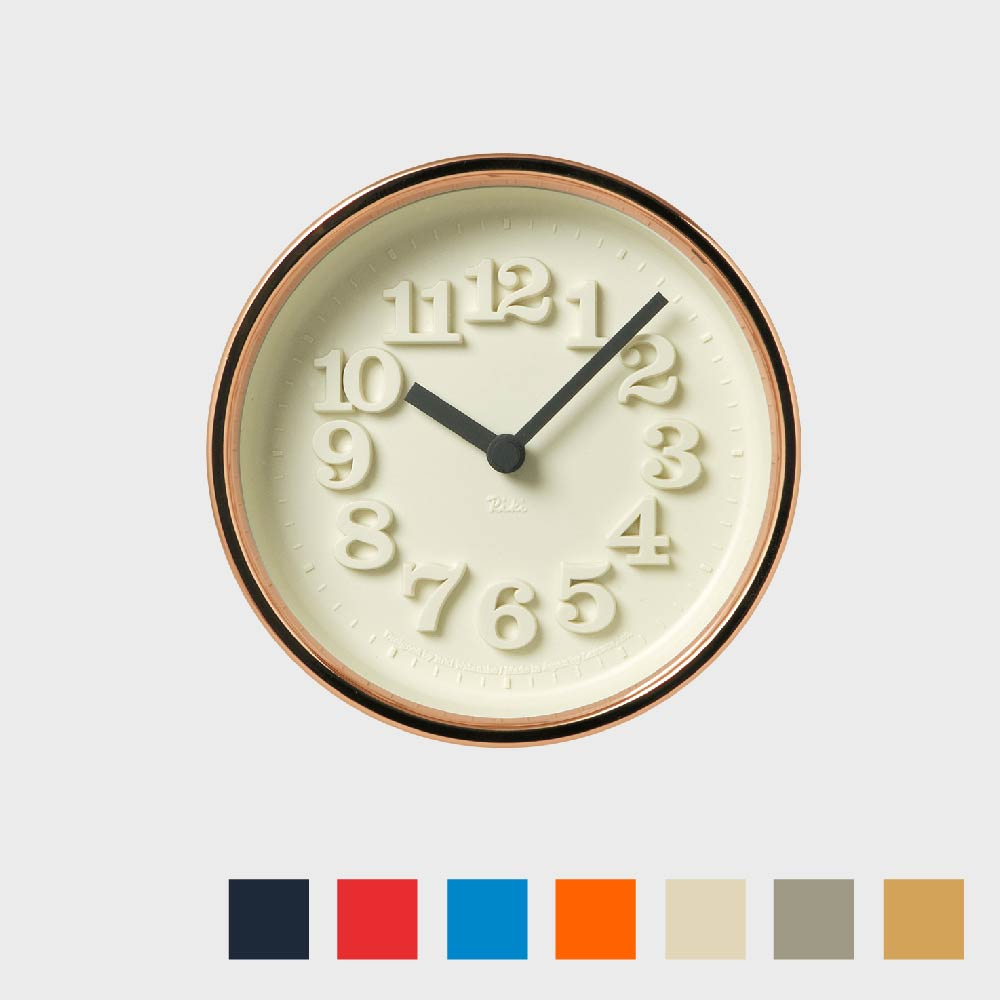 Lemnos/掛時計・置時計/渡辺力/小さな時計[全7色] WR07-15 【楽ギフ_包装選択】