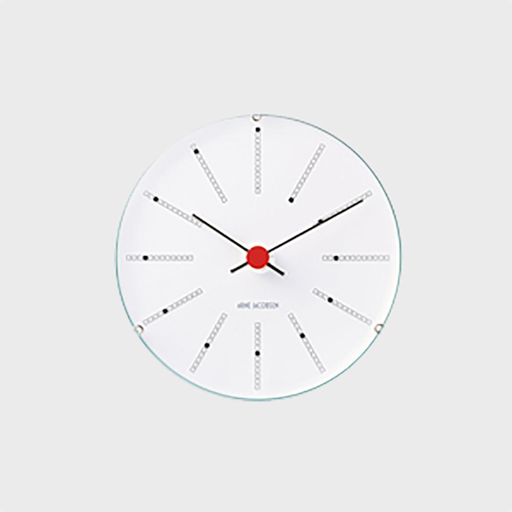 【100-3000円offクーポン】北欧 アルネヤコブセン Bankers 掛け時計 ウォールクロック 120mm [ デザイナーズ ウォールクロック 北欧 ]