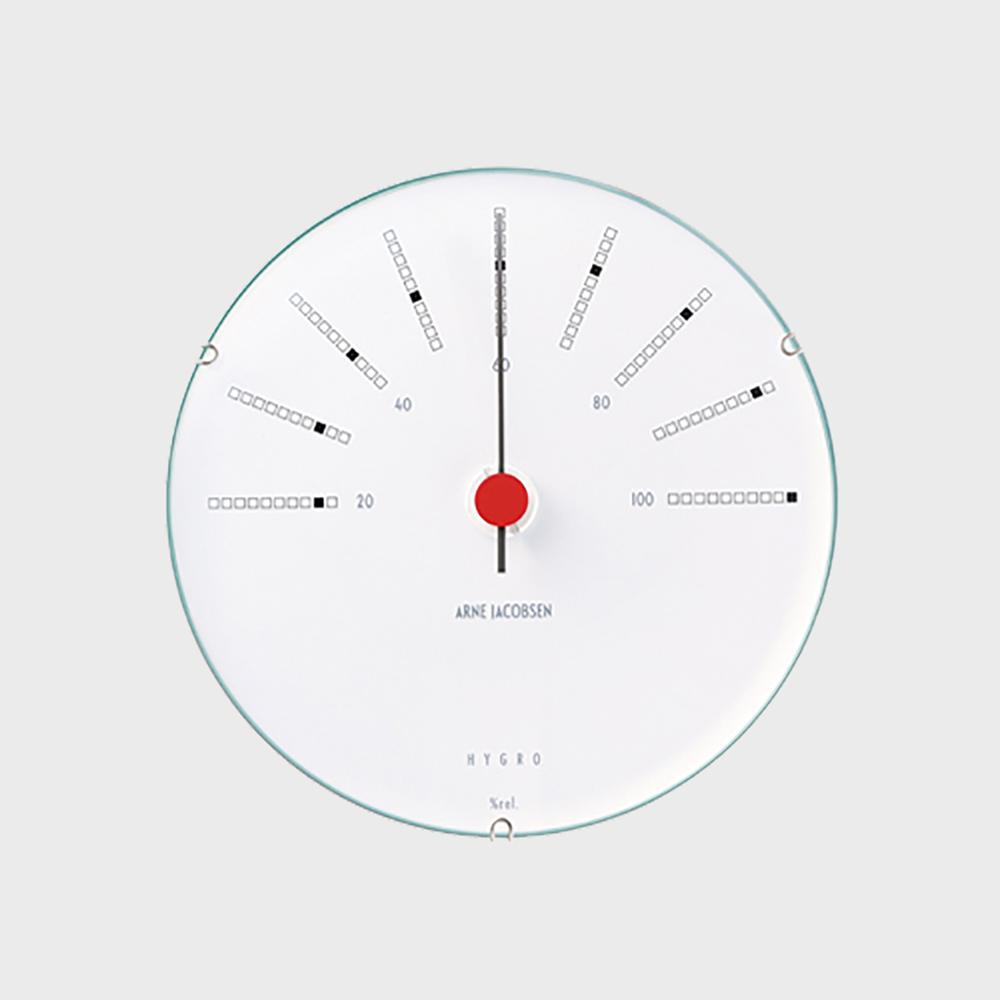 【100-2000円offクーポン】北欧 アルネヤコブセン Bankers ハイグロメーター(湿度計) 120mm [ デザイナーズ ウォールクロック 北欧 ]