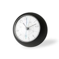 【マラソン期間¥100-2000クーポン】五十嵐威暢/earth clock アースクロック/テーブルクロック 置時計/TIL16-11BK