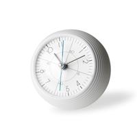 이가라시위창/earth clock 어스 클락/테이블 클락 탁상시계/TIL16-11 WH