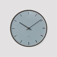 【国内最終入荷】アルネ ヤコブセン 掛け時計・ウォールクロック city hall シティホール  ROYAL BLUE φ21cm