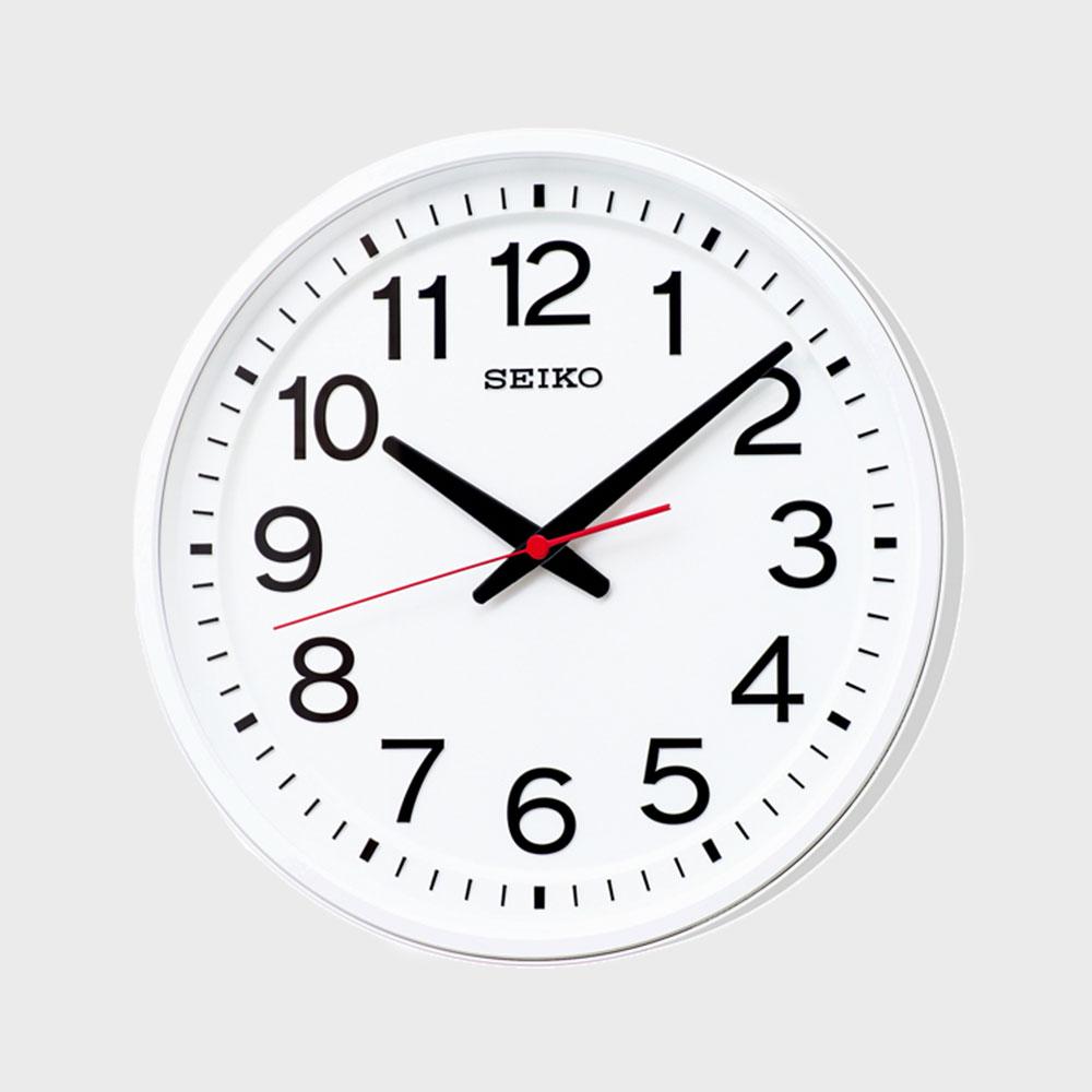 【マラソン期間¥100-2000クーポン】SEIKO(掛け時計 教室の時計 衛星電波時計 GP219W [ セイコーの電波掛け時計 ]