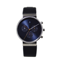 【100-3000円offクーポン】Jacob Jensen ヤコブ イェンセン|腕時計/クロノグラフ 605 Blue