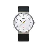 【100-2000円offクーポン】【5%OFFクーポン対象】braun/ブラウン/腕時計/bnh0032 ホワイト×バンドレザー [腕時計はbraun ブラウンbnh0032]