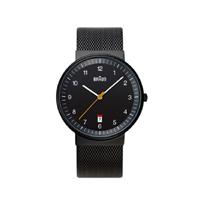 【5%OFFクーポン対象】braun/ブラウン/腕時計/bnh0032 ブラック×バンドメッシュ [腕時計はbraun ブラウンbnh0032]