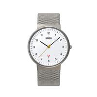 【5%OFFクーポン対象】braun/ブラウン/腕時計/bnh0032 ホワイト×バンドメッシュ [腕時計はbraun ブラウンbnh0032