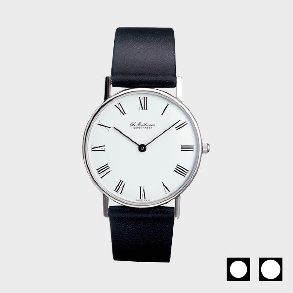 【マラソン期間¥100-2000クーポン】オーレ・マティーセン/腕時計/ROMAN-WHITE-DIAL