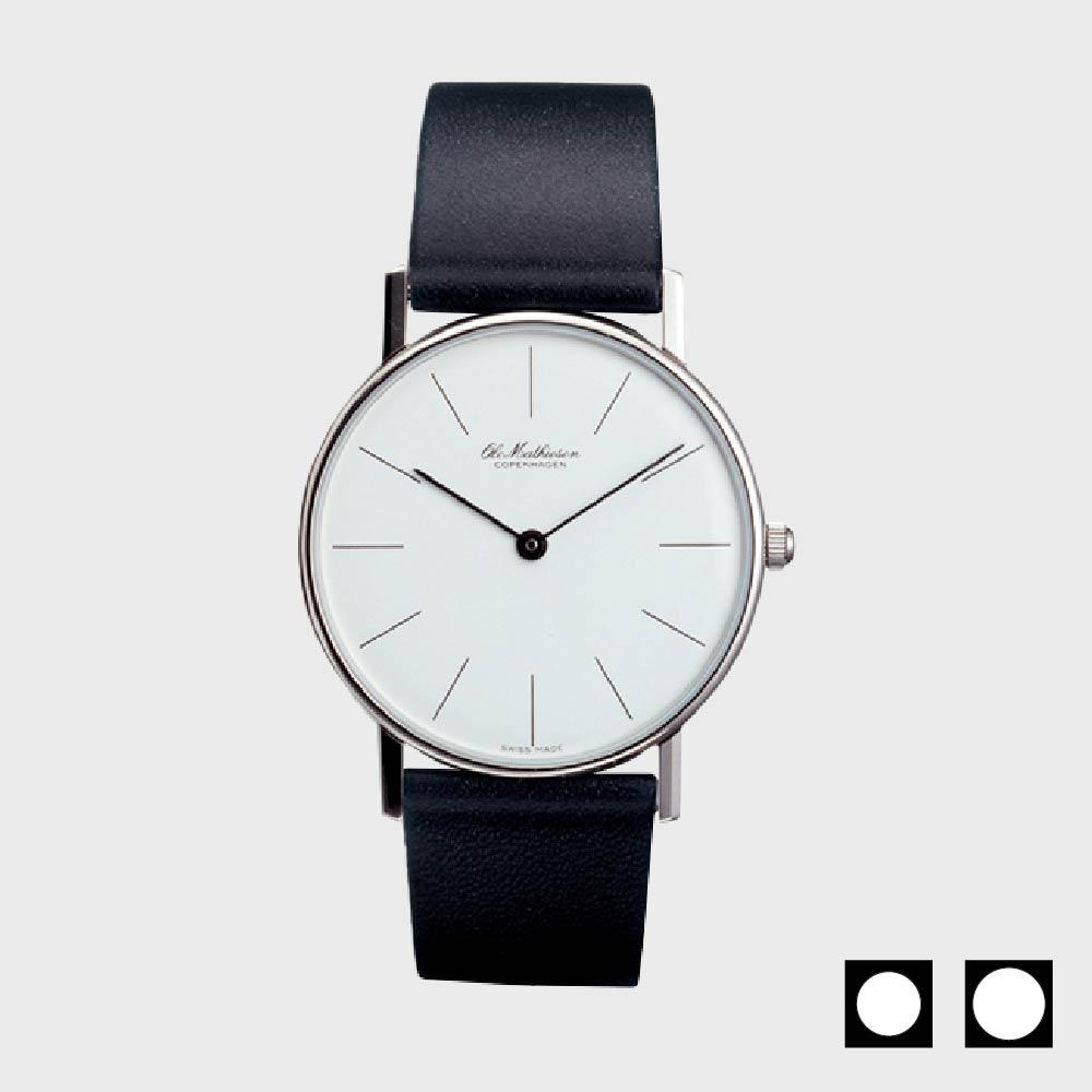 【100-2000円offクーポン】オーレ・マティーセン/腕時計/LINE-WHITE-DIAL