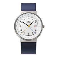 【マラソン期間¥100-2000クーポン】braun ブラウン/腕時計/BN0142WHBLG/ホワイト×シルバー×ネイビー [腕時計はbraun ブラウンBN0142WHBLG]