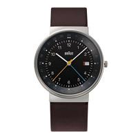 【5%OFFクーポン対象】braun ブラウン/腕時計/BN0142BKBRG/ブラック×シルバー×ブラウン [腕時計はbraun ブラウンBN0142WHBLG]