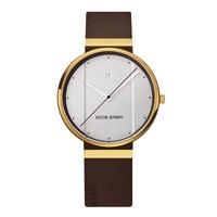 【マラソン期間¥100-2000クーポン】Jacob Jensen ヤコブ イェンセン|腕時計/New/ゴールド×ホワイト35mm