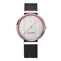 【100円クーポン】Jacob Jensen ヤコブ イェンセン|腕時計/New/ホワイト×オレンジ35mm