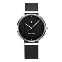 【100-2000円offクーポン】Jacob Jensen ヤコブ イェンセン|腕時計/New/ブラック×グリーン35mm