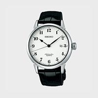 【マラソン期間¥100-2000クーポン】渡辺力 腕時計 PRESTIGE LINE 琺瑯ダイヤル SARX027