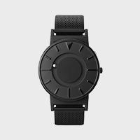 【マラソン期間¥100-2000クーポン】さわる時計 Bradley MESH BLACK