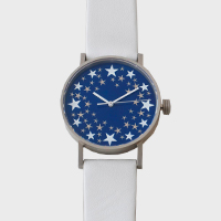 sapporo star watch 札幌駅 星の大時計 37mm 革バンド