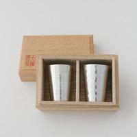 大阪錫器/カップ磨&ツチメ 2種類セット