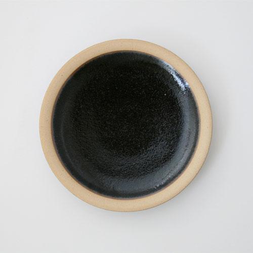 圆柳宗门理/出来西面炉/碟子中的/黑色