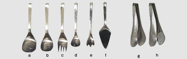 Sori Yanagi / Serve utensil / Stainless tongs