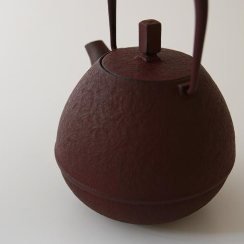 岩清水 久生/스페이스 주조/남부 철기/철 주전자/Egg 작은 검정 (0.25 L) [스페이스 주 남부 철기/주전자]