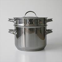 opaオパ社/Mari スチーマー付きキャセロール 5.0L/フィンランド生産 [北欧/蒸し器付き鍋 スチーマー付きキャセロール IH対応]