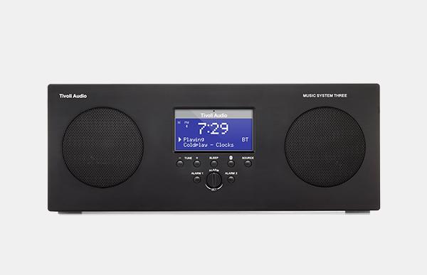 【100円クーポン】Tivoli Audio/Music System Three BT[2カラー]