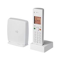 ±0 プラスマイナスゼロ/DECT コードレス電話機Z040/ホワイト [ コードレス電話機は±0/プラスマイナスゼロ ]