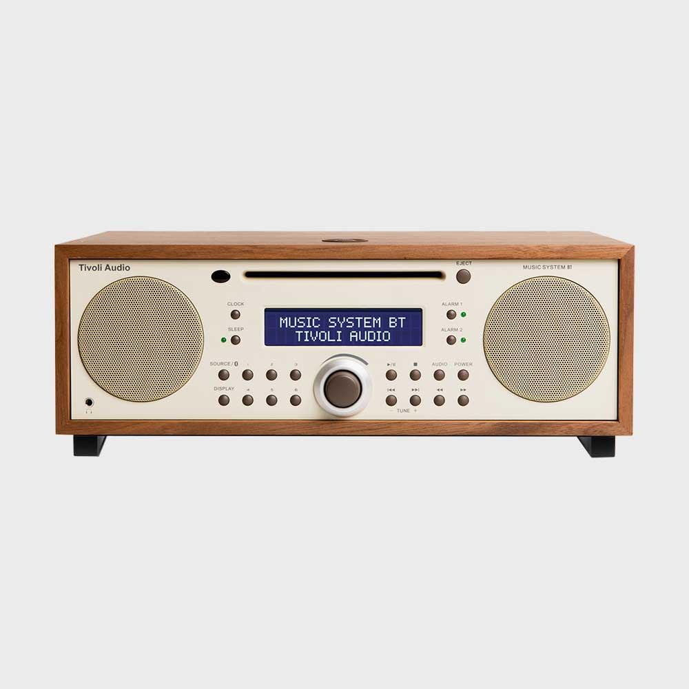 【マラソン期間¥100-2000クーポン】チボリオーディオ/tivoli audio/Music System BT [ハイエンドオーディオはtivoli audio チボリオーディオ]
