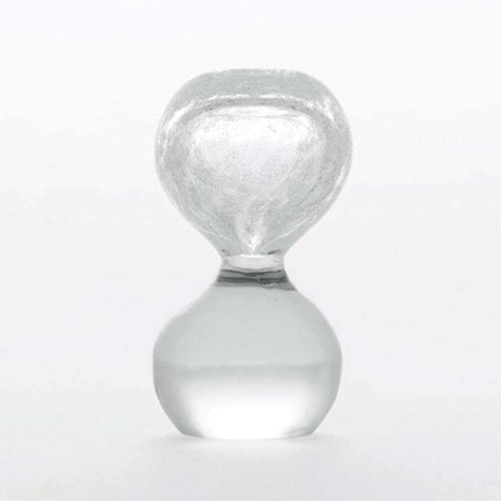【100-2000円offクーポン】SECCA 雪花ガラス/成長するガラス/Sand timer shape