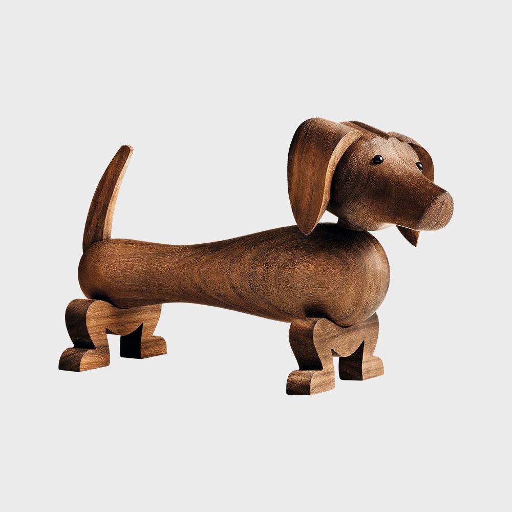 KAY BOJESEN カイボイスン /木製 オブジェ 玩具/ダックスフンド [ モンキー 小鳥などカイボイスンの木製オブジェ ]