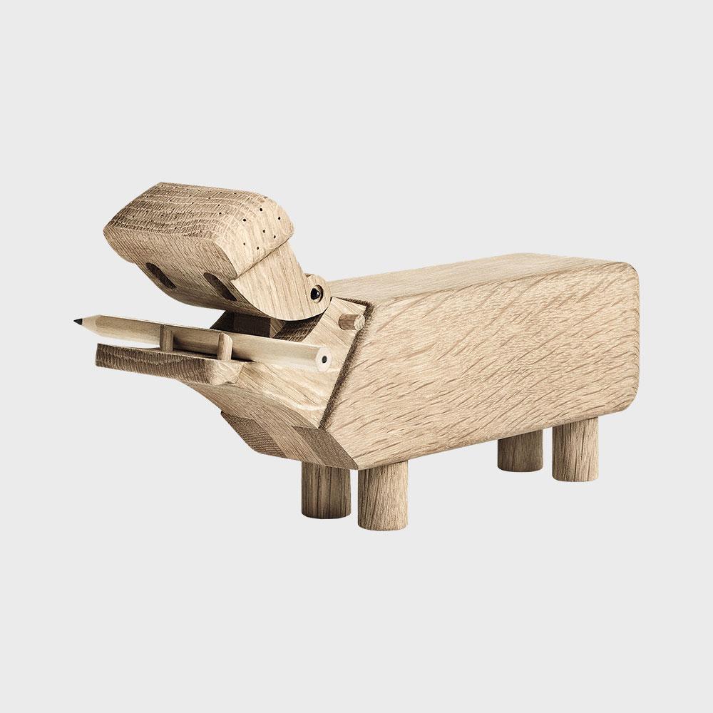 KAY BOJESEN カイボイスン /木製 オブジェ 玩具/カバ [ モンキー 小鳥などカイボイスンの木製オブジェ ]