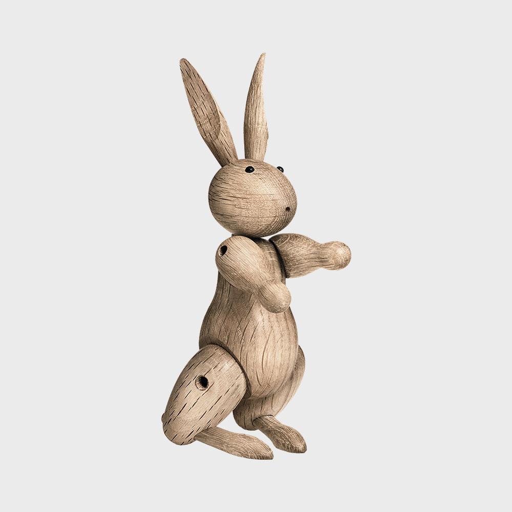 KAY BOJESEN カイボイスン /木製 オブジェ 玩具/ウサギ [ モンキー 小鳥などカイボイスンの木製オブジェ ]