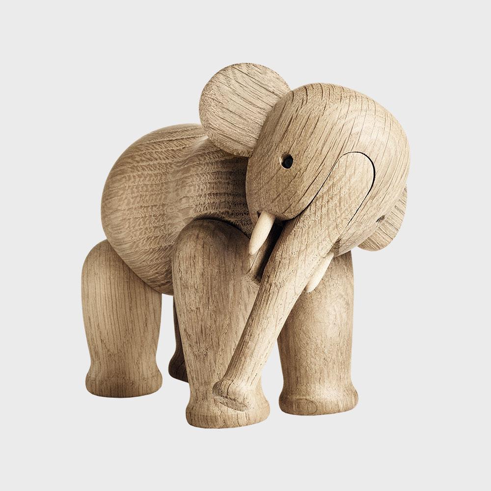 【100-3000円offクーポン】KAY BOJESEN カイ ボイスン/木製 オブジェ 玩具/ゾウ [ モンキー 小鳥などカイボイスンの木製オブジェ ]