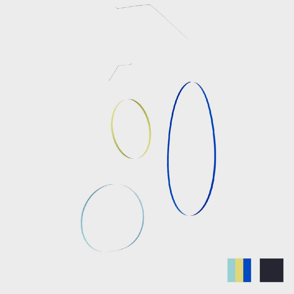【100円offクーポン&福袋企画】tempo モビール circle waltz